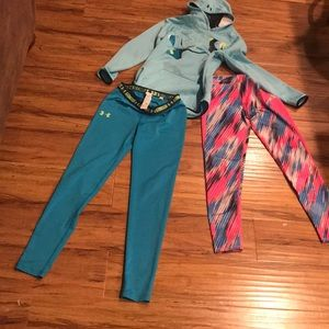 Girls youth large athletic bundle